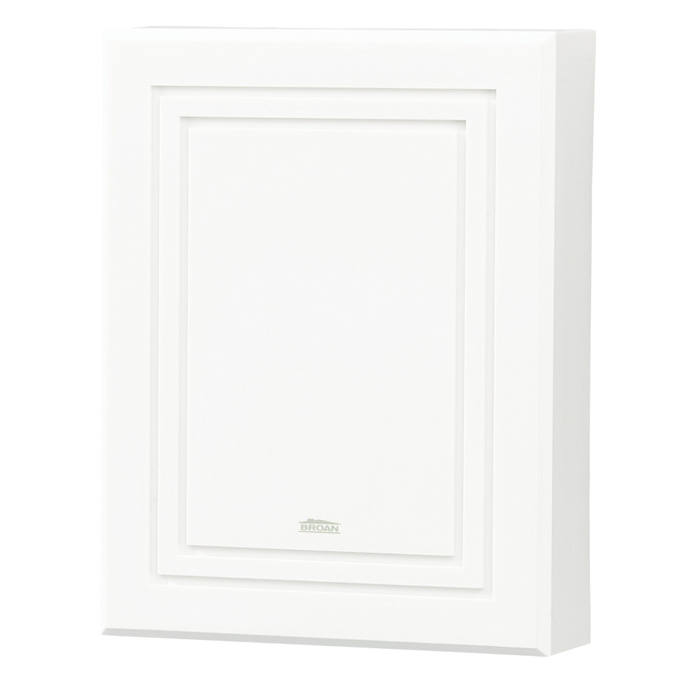 Decorative Wired Doorbell, White