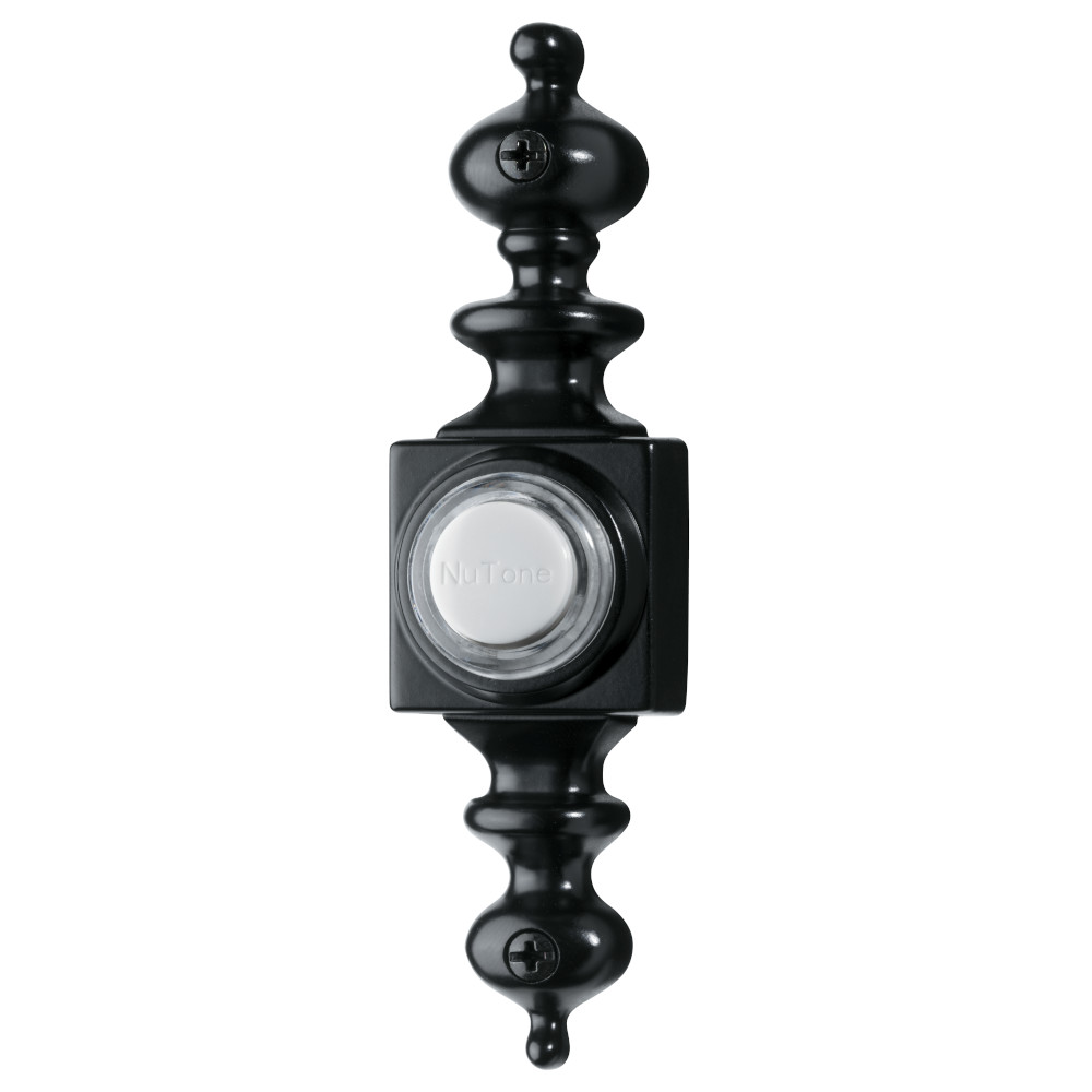Lighted Dimensional Black Pushbutton