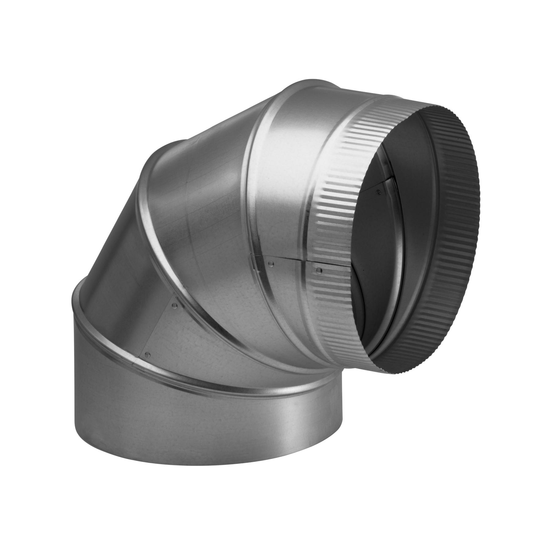 10-Inch Round Elbow Duct for Range Hoods and Bath Ventilation Fans