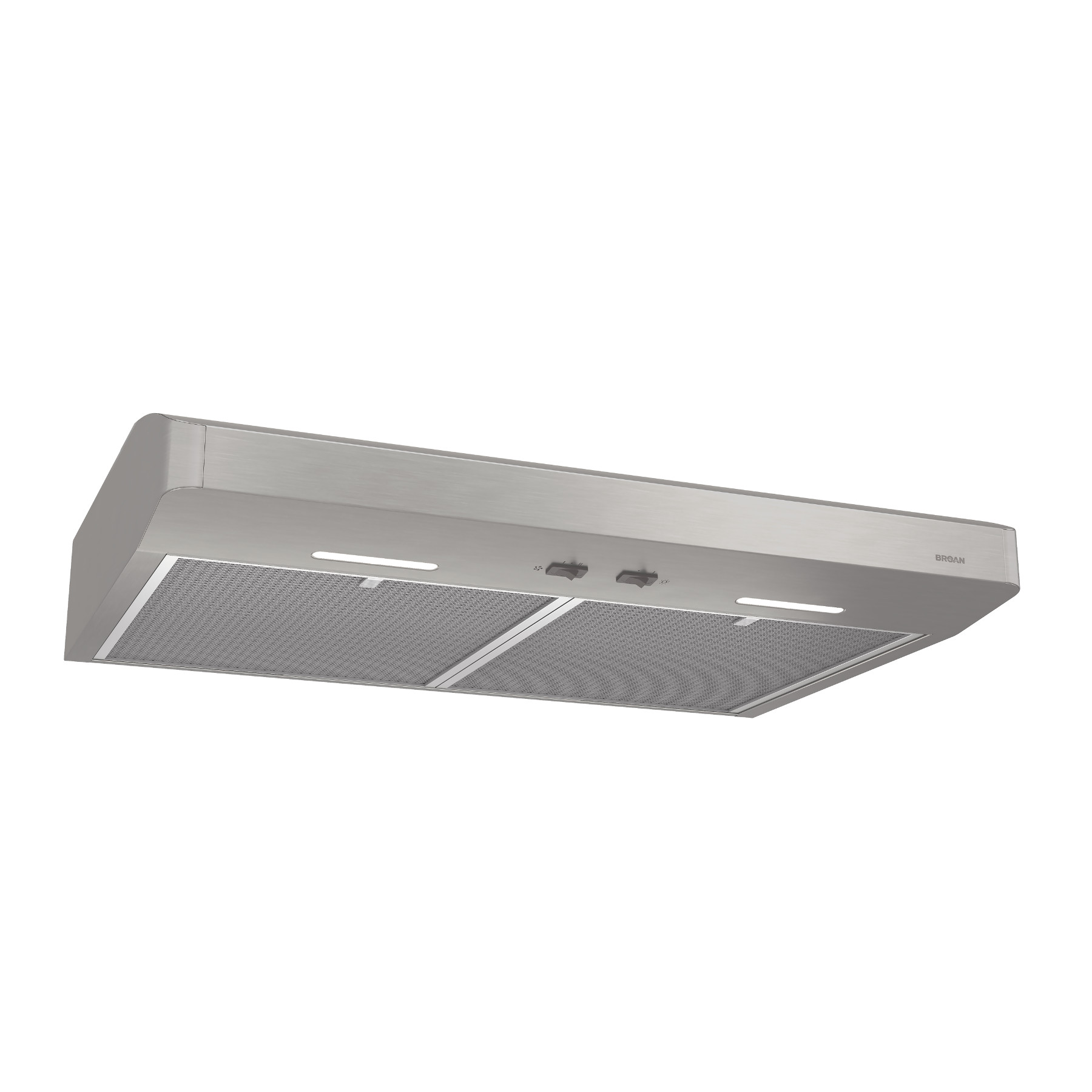 Broan® 30-Inch Convertible Under-Cabinet Range Hood, 250 CFM, Stainless Steel