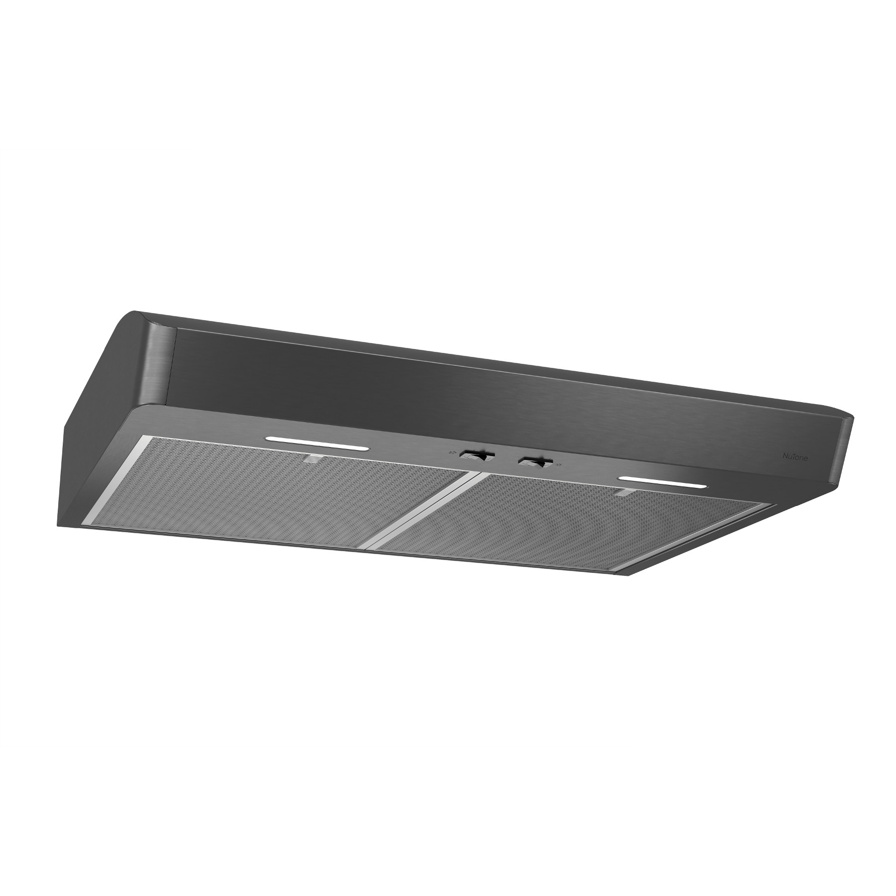 Mantra 30-Inch Convertible Under-Cabinet Range Hood, 300 CFM, Black Stainless Steel