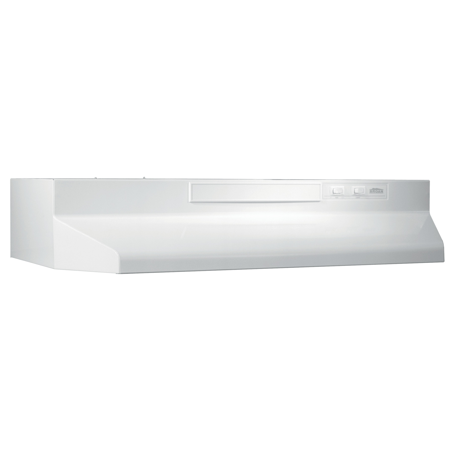 Broan® 30-Inch Convertible Under-Cabinet Range Hood, White