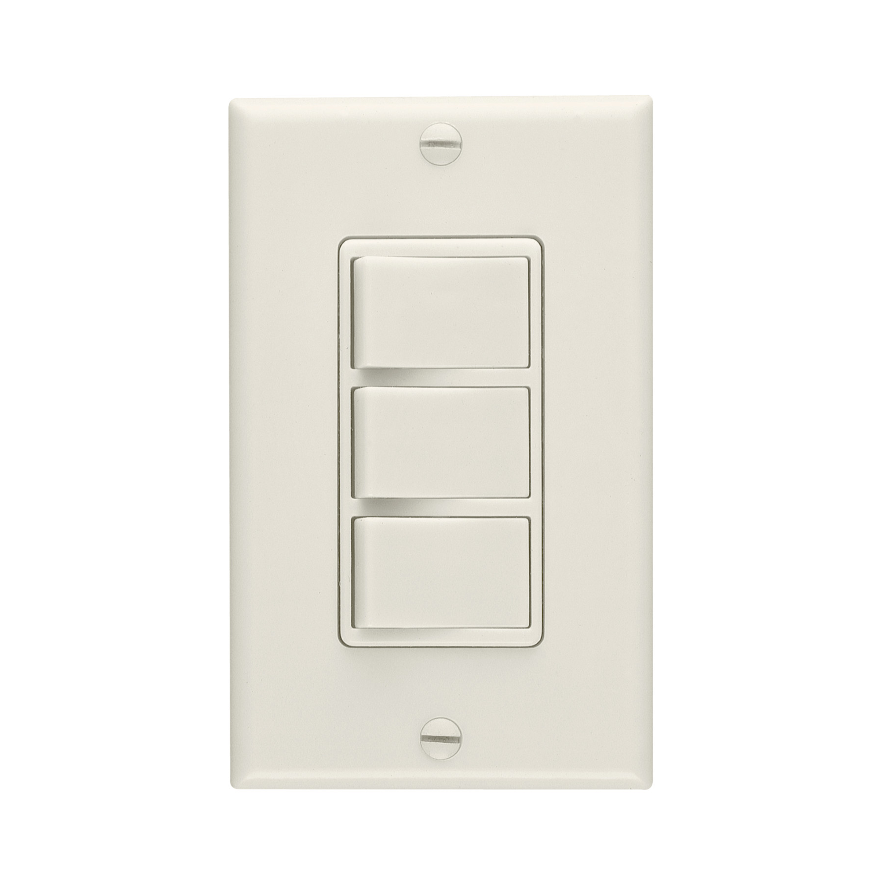 Broan-NuTone® 3-Function Control. Ivory
