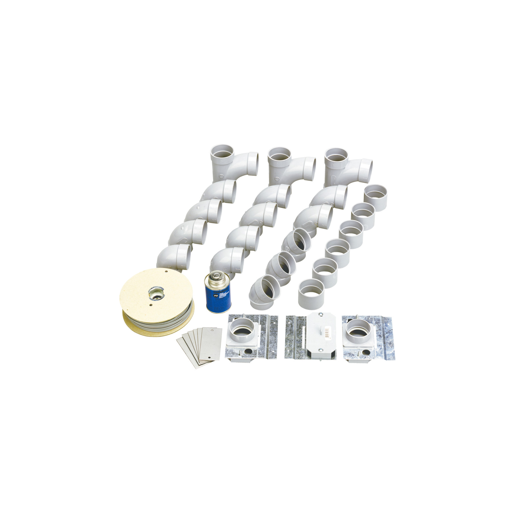 NuTone® Rough-in Kit for 3-Inlet Installation