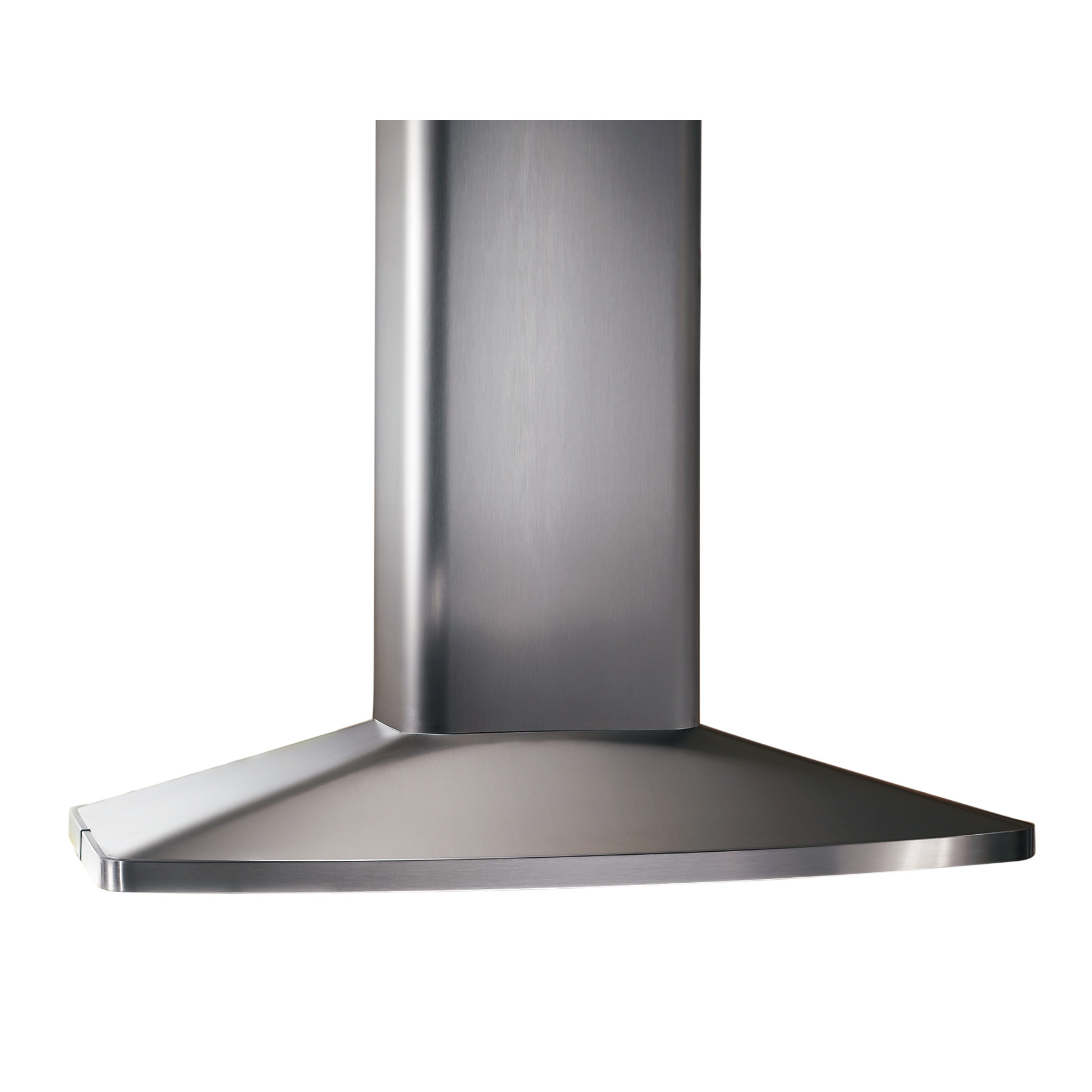 Broan® 27-9/16-Inch X 35-7/16-Inch Convertible Island Chimney Range Hood, 480 CFM, Stainless Steel