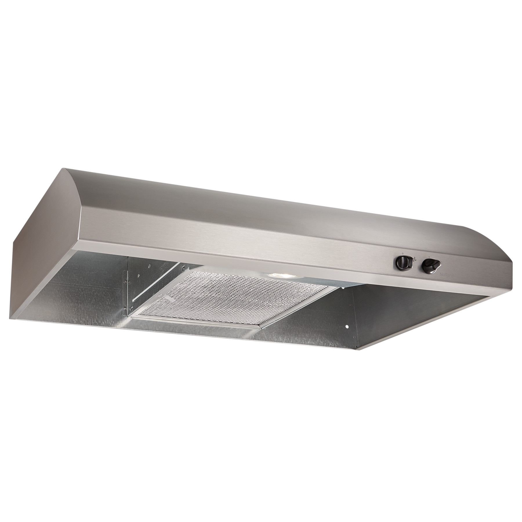 NuTone® 30-Inch 4-Way Convertible Under-Cabinet Range Hood, 220 CFM, Stainless Steel
