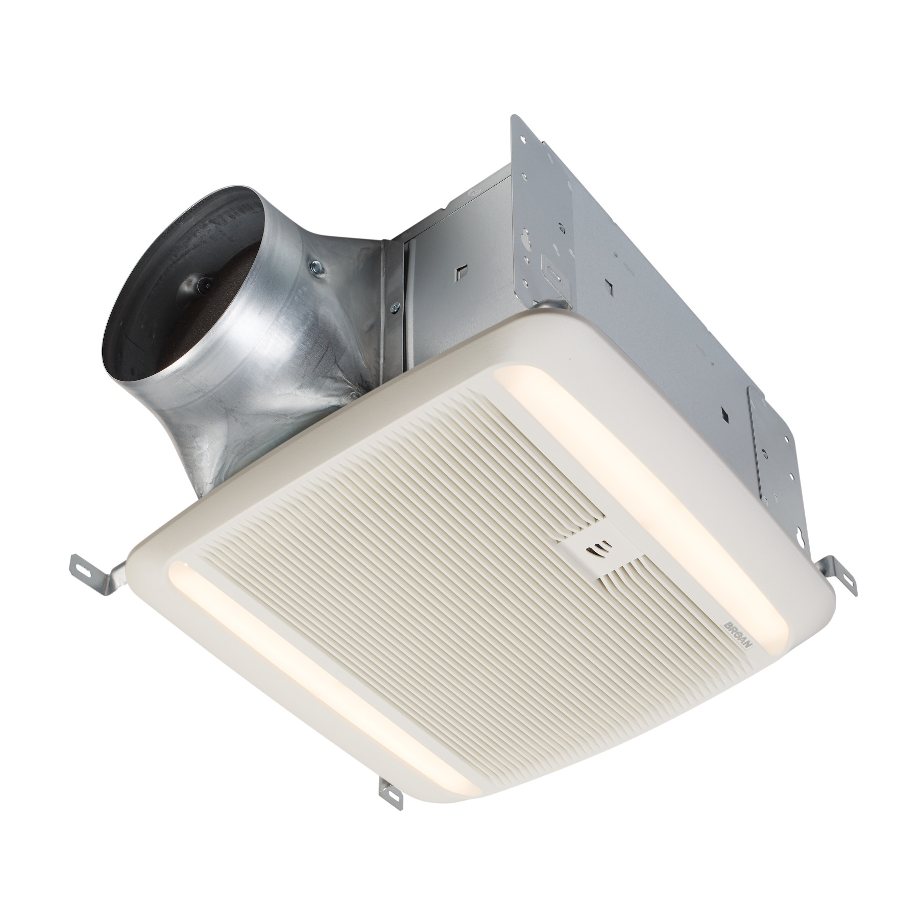 Broan® Humidity Sensing Exhaust Ventilation Fan w/ LED Light, 110-130-150 Selectable CFM, ENERGY STA