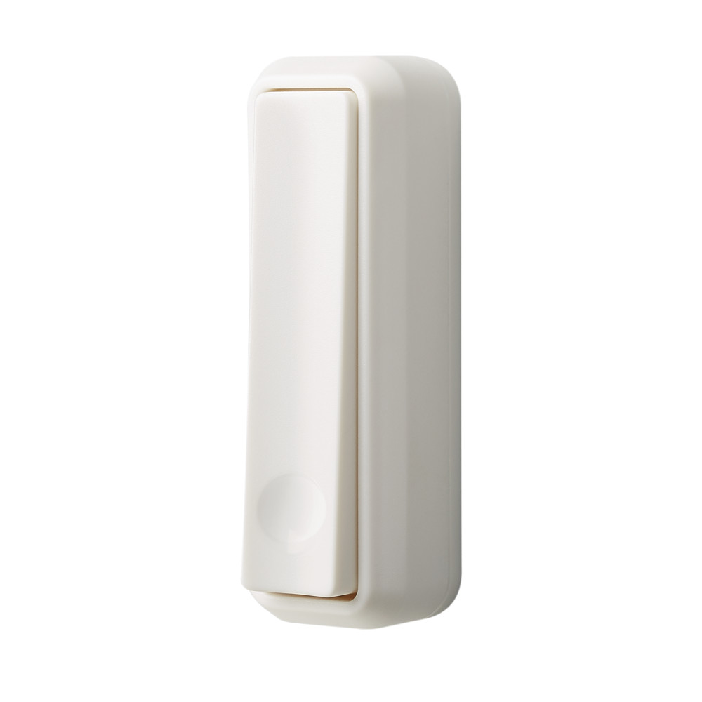 Kinetic Wireless White Doorbell Pushbutton