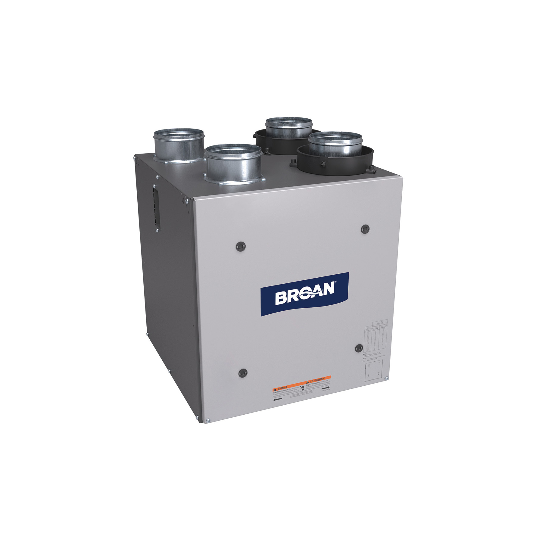 Broan® Compact Flex Series™ Energy Recovery Ventilator, 70 CFM at 0.4 in. w.g.
