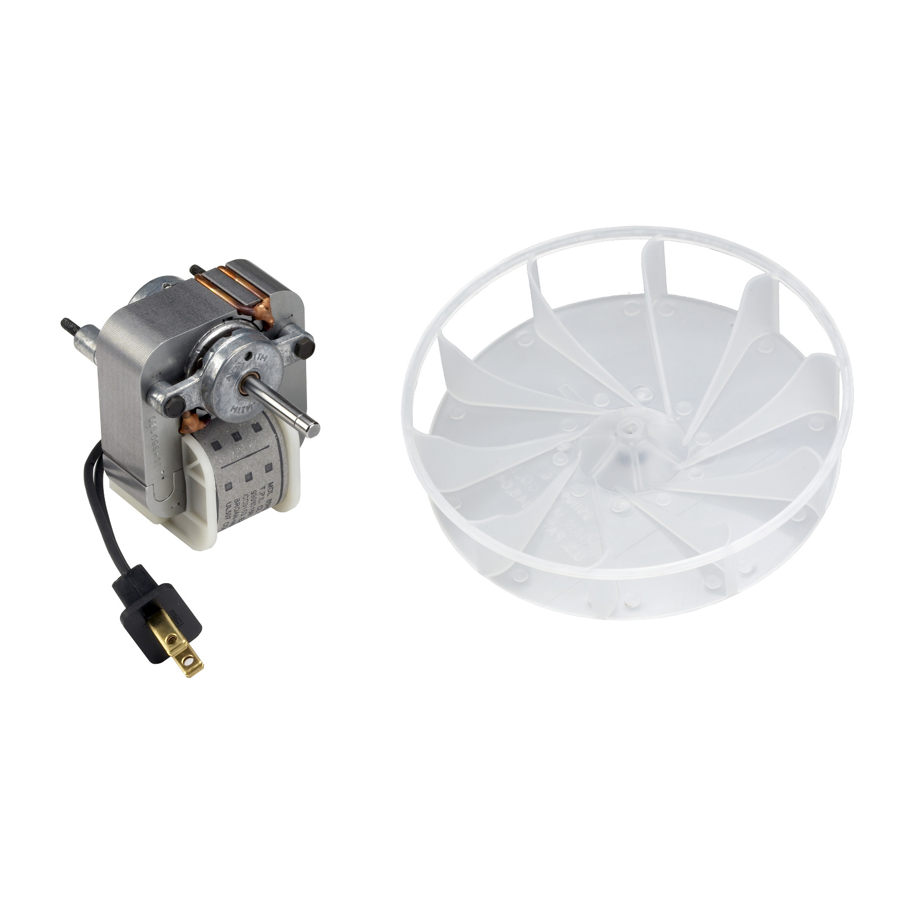 Broan-NuTone® Motor/Wheel, 70 CFM (655, 657, 658, 679, 671 and 671-A)