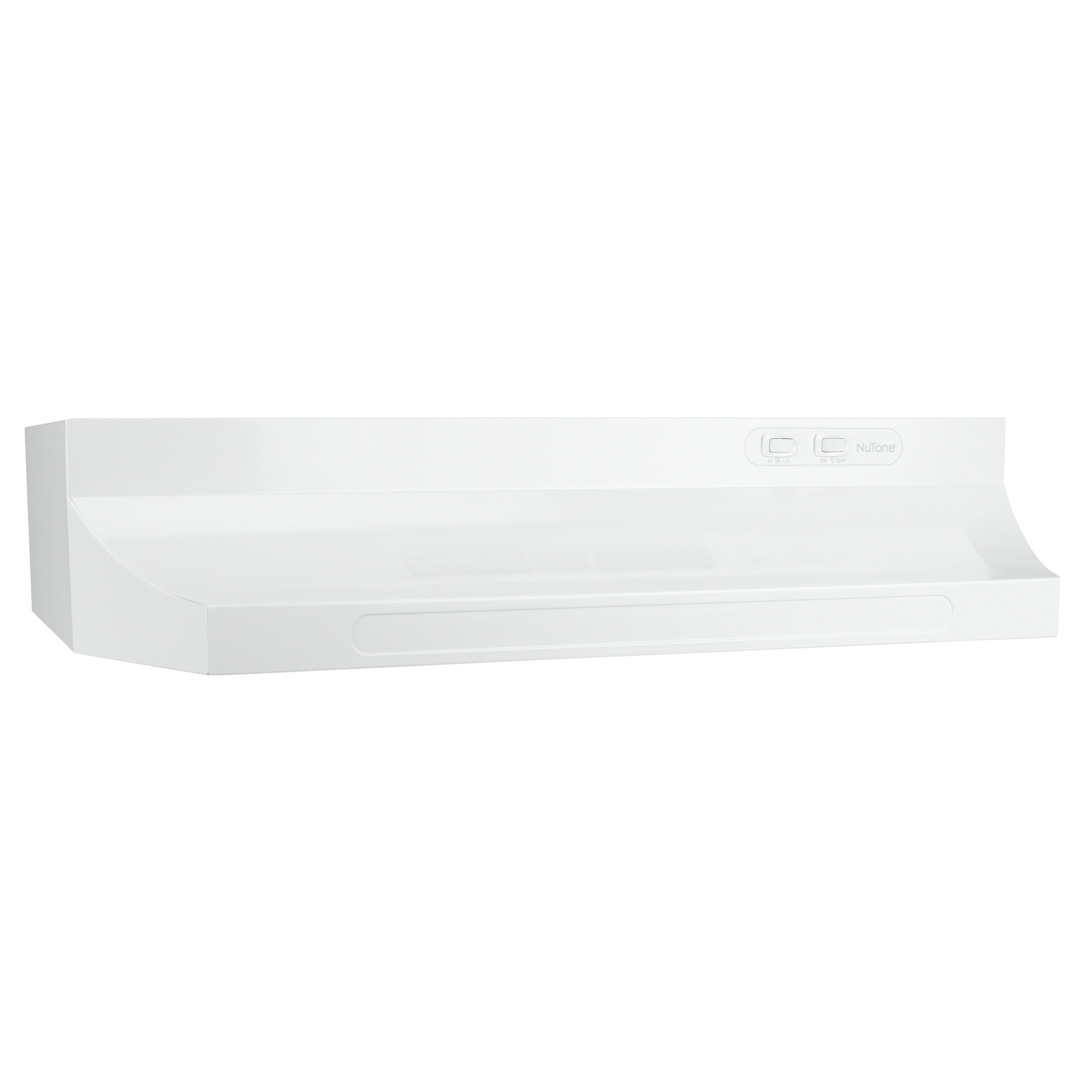 "NuTone® 30"" Ductless Under-Cabinet Range Hood w/ Light, White"