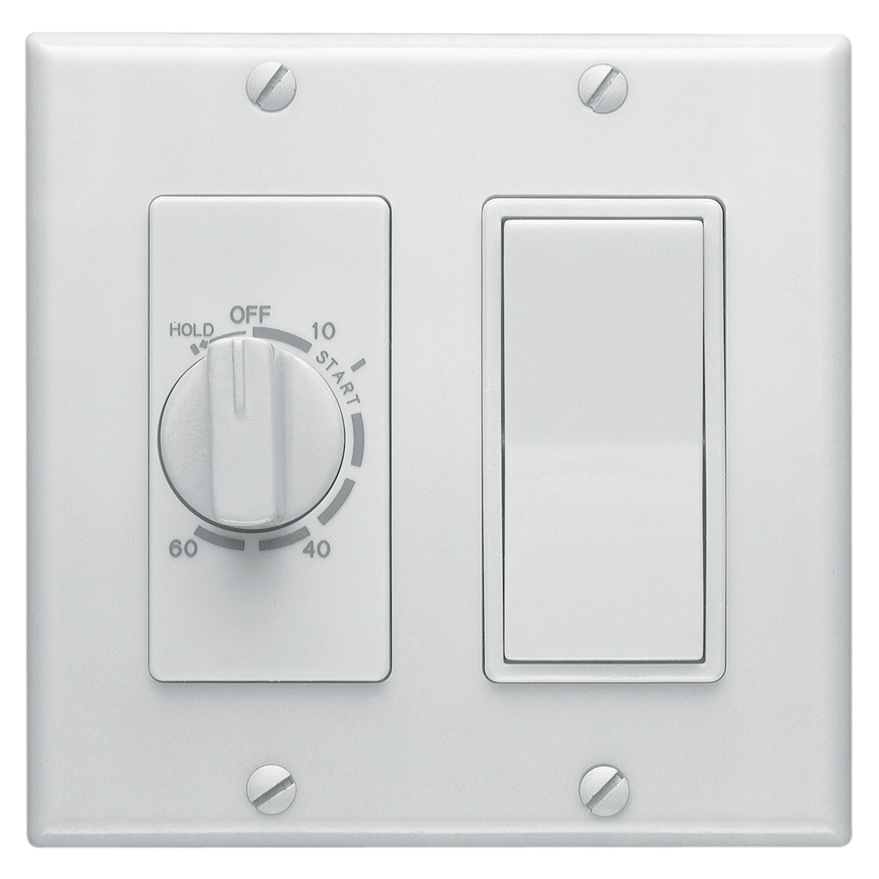 Broan-NuTone® 60-Minute Time Control w/ 1-Rocker Switch, White