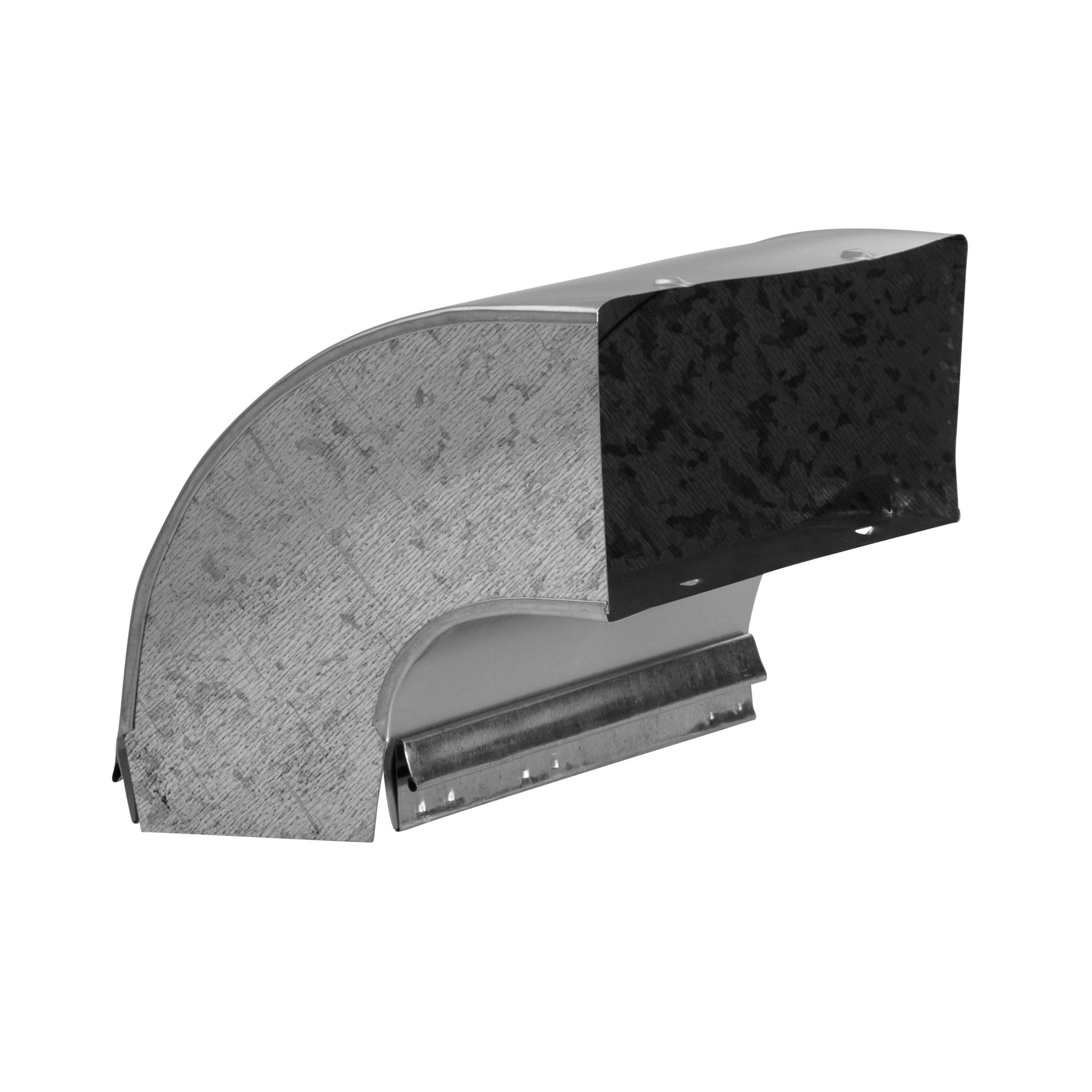 Broan-NuTone® 90-Degree Elbow Transition for Range Hoods and Bath Ventilation Fans