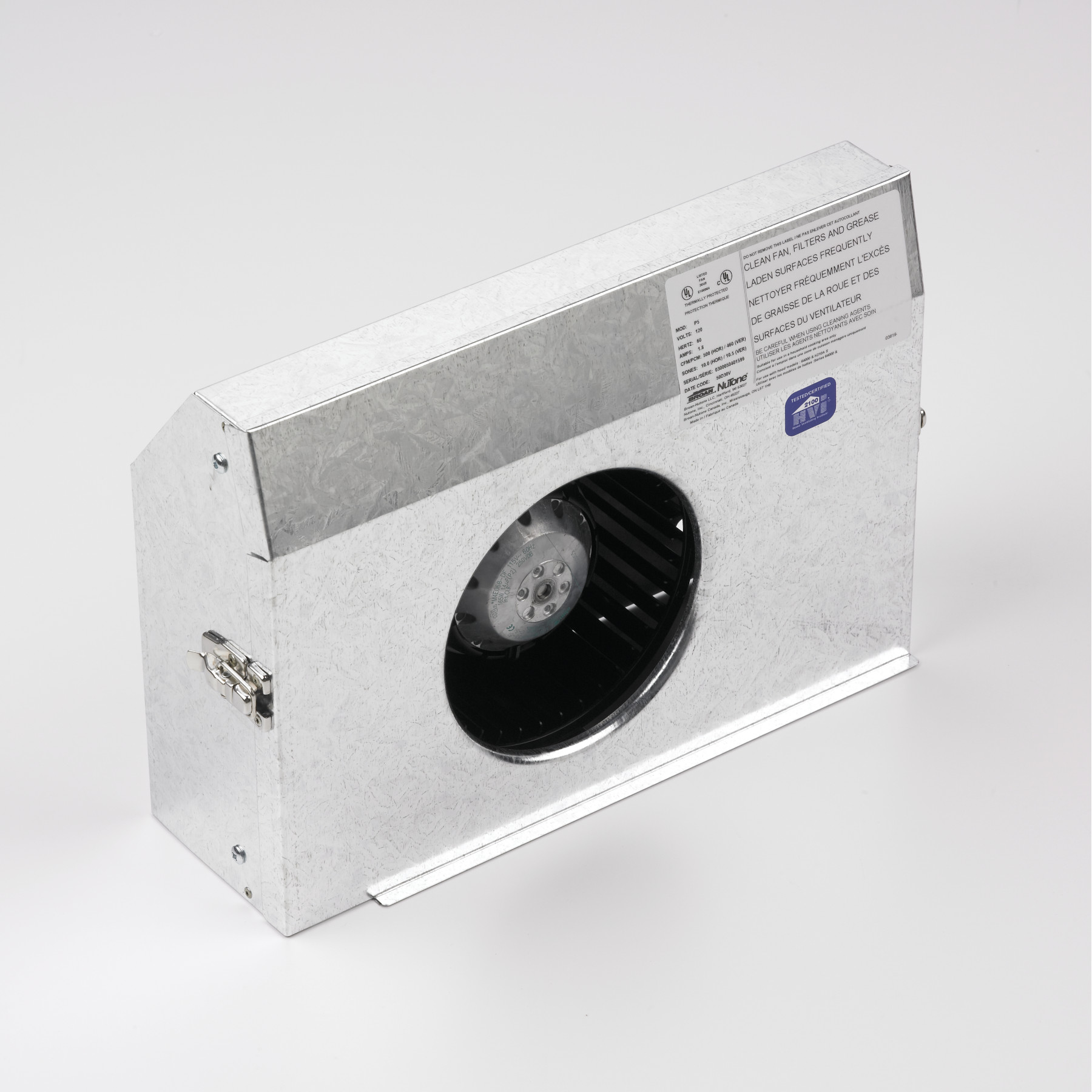Internal Blower, 460 CFM for use with select Broan® Power Packs and Inserts