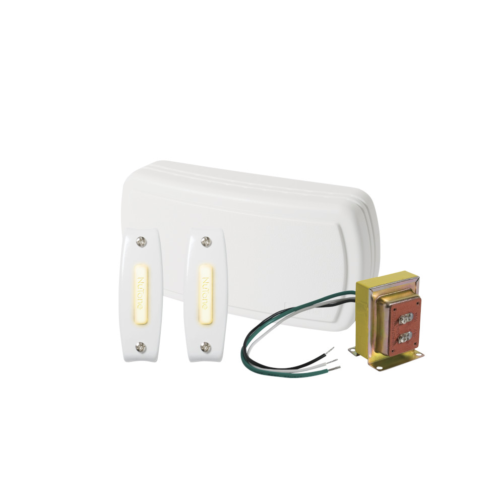Builder Kit Doorbell with Two Lighted Pushbuttons